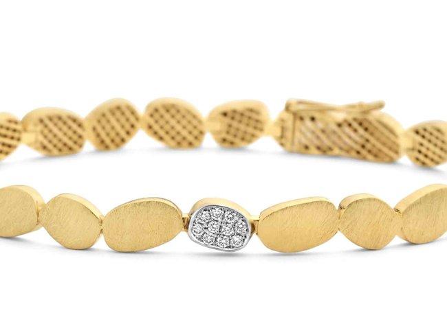 armband briljant - goud | Femme Adoree