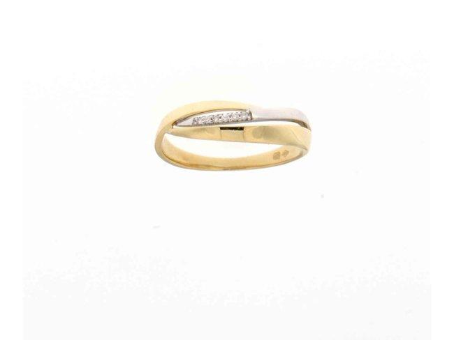 ring briljant - goud 18 kt met briljant | Taste of Luxury