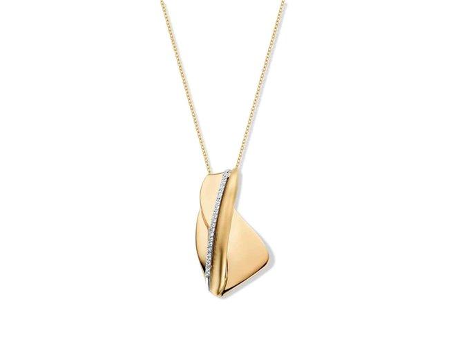 collier briljant - goud | Taste of Luxury