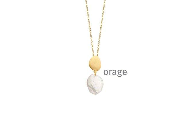 Ketting - plaque   Orage