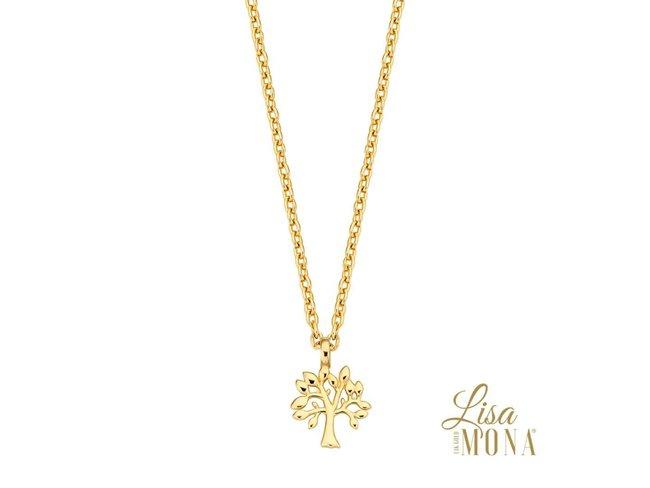 ketting - goud 14 kt | LisaMona