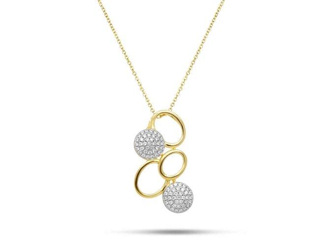 ketting - vermeille (verguld zilver) | Silverrose