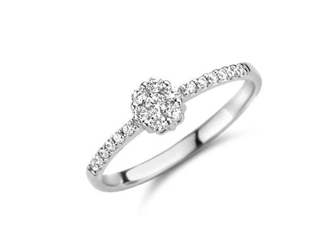 Ring zirkonium - goud | You & Me
