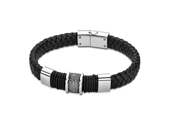 armband - staal | Lotus Style