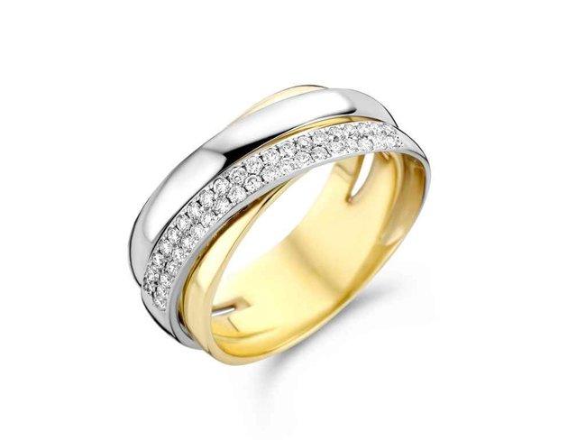transformatie ring - goud | emotions