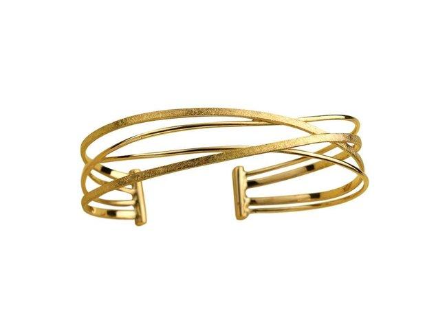 transformatie armband - goud | Deuxx