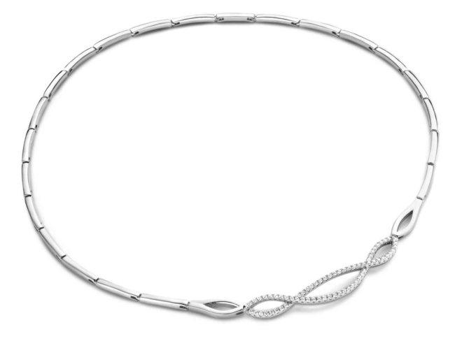 Ketting - zilver   Silverrose
