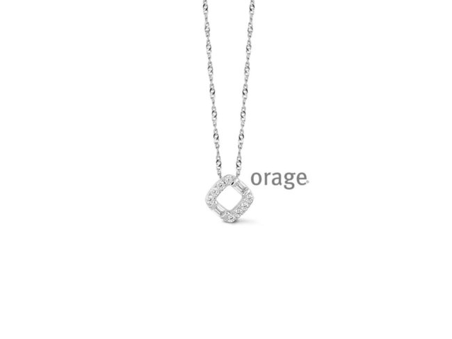 Ketting - zilver | Orage