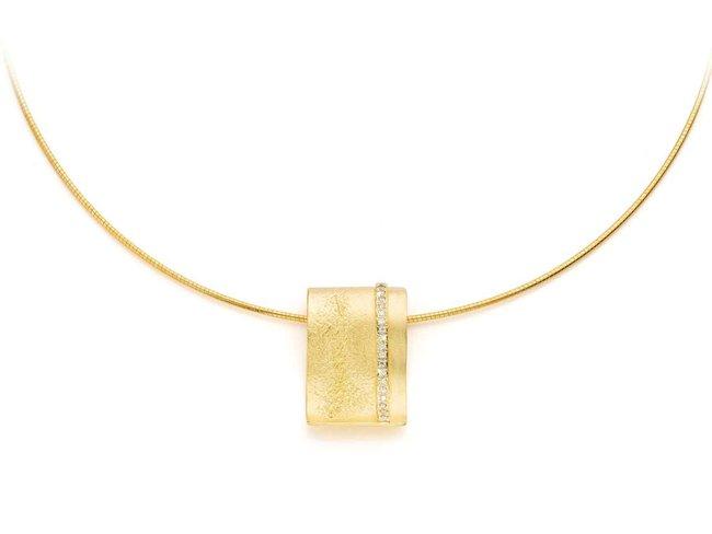 hanger - vermeille (verguld zilver) | Mathisse