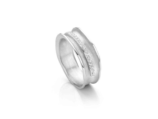 ring - zilver | Mathisse