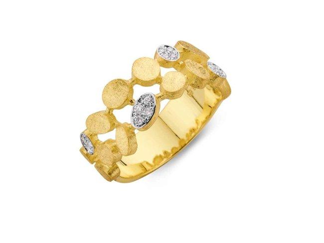 ring briljant - goud | Femme Adoree