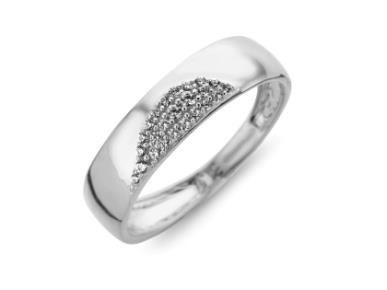 Ring Zirkonium - goud | CARA