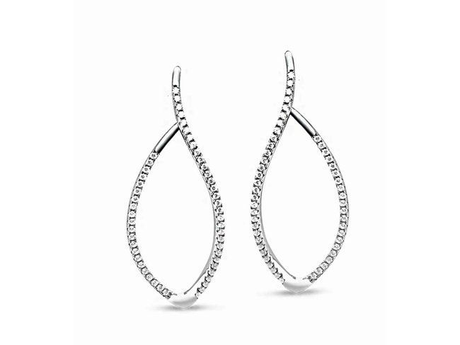 oorring - zilver | Silverrose