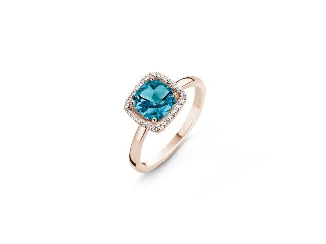 ring briljant - goud 18 kt met briljant | One More
