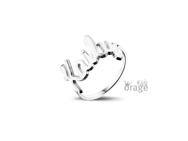 ring - zilver | Orage Kids