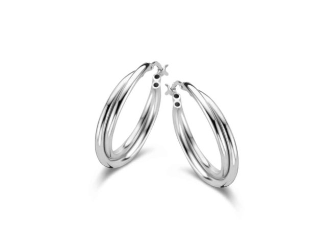 oorring - zilver | Naiomy