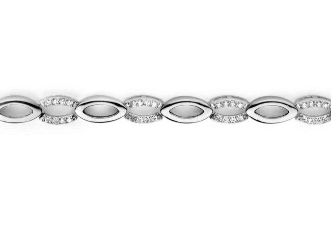 armband - zilver | Silverrose