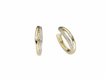 oorring briljant - goud | You & Me