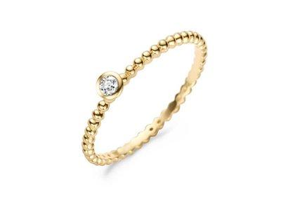 ring - goud 14 kt   Blush